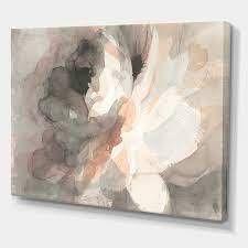 DesignArt Abstract Peony Canvas Art