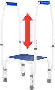 Platinum Health Adjustable Step Stool w  Support Handles