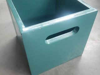 Teal Square Box
