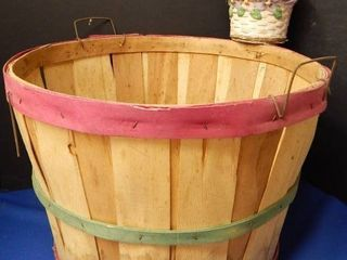 Bushel Basket   Flower Pot
