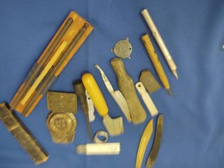 Vintage lot   Knife Sharpener  etc