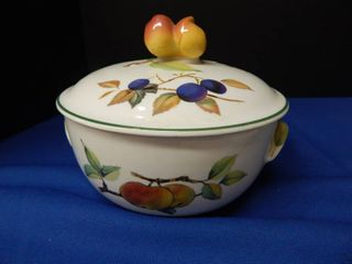 Evasham Vale Bowl with lid
