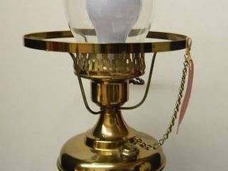 Brass Electric Oil lamp