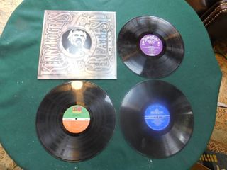 Four lP Records including Kenny Rogers