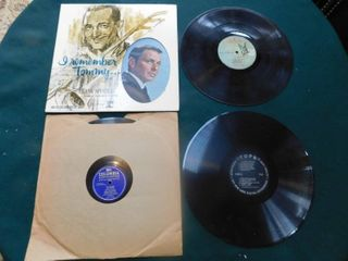 Four lP Records including Frank Sinatra