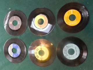 Six 45 RPM Records including The Jackson Five