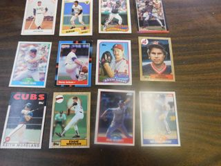 12 Baseball Cards including Kurt Stillwell