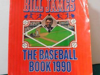 Baseball Book by Bill James