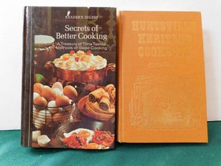 Vintage Cookbooks  2 ea