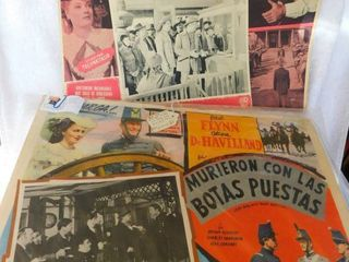 Errol Flynn Movie PosterS  2 EA