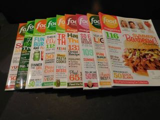 Food Magazines  9 each