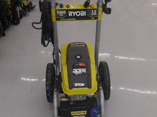 Ryobi Electric Power Washer  2300 PSI  1 2 GPM  Green  Machine Only  Used  Not Fully Inspected