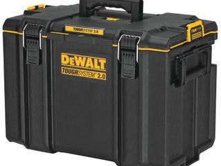 DEWAlT TOUGHSYSTEM 2 0 22 in  Extra large Tool Box  Black