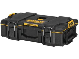 DEWAlT TOUGHSYSTEM 2 0 22 in  Small Tool Box  Black