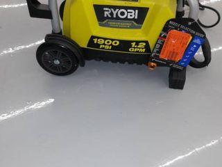 Ryobi Premium Electric Pressure Washer  1900 PSI  1 2 GPM  Green  Machine Only  USED