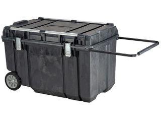 DeWAlT DWST38000 63 Gallon Capacity Heavy Duty Tough Chest Mobile Storage MISSING ClAMPS TO ClOSE BOX