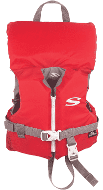 Stearns Infant Classic Boating Vest  Red