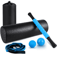 KESHI 5 in 1 foam roller set only have 4 pieces