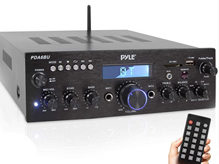 PYlE COMPACT WIRElESS STEREO AMPlIFIER