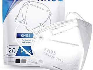 Hotodeal KN95 Mask Safety Mask Breathable Mask  20 pcs