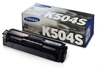 Samsung Electronics ClT K504S Toner for ClP 415NW  ClX 4195FW  Sl C1810W  Sl C1860FW  Black  SU162A