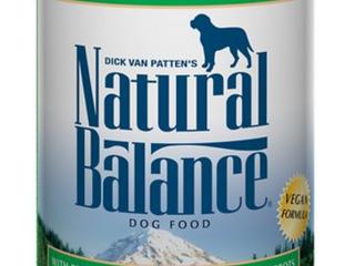 Natural Balance Dog Food 12 Cans
