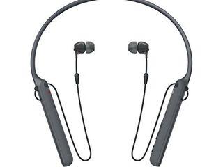 Sony   C400 Wireless Behind Neck in Ear Headphone Black  WIC400 B
