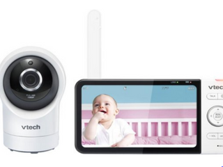VTech VM350 2 5  Video Baby Monitor with 5  Screen long Range Infrared   Tested