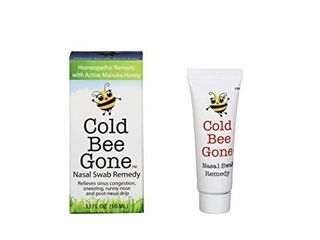 Cold Bee Gone Nasal Swab Cold and Flu Symptom Remedy w Manuka Honey   100  Doses   All Natural for Kids and Adults