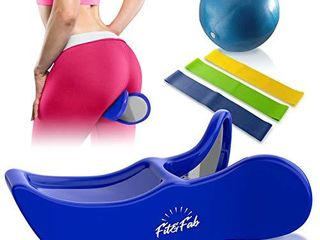 Fit Fab Kegel Exerciser Hip Trainer for Women with Butt lifting  Muscle Toning  and Pelvic Floor Strengthening  Provides Postpartum Therapy for Bladder Control  Inner Thigh Trainer Correction