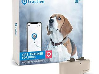 Tractive lTE GPS Dog Tracker   location   Activity Tracker for Dogs with Unlimited Range  Newest Model