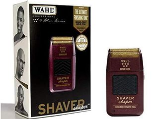 Wahl Professional 5 Star Series Rechargeable Shaver Shaper  8061 100   Up to 60 Minutes of Run Time   Bump Free  Ultra Close Shave