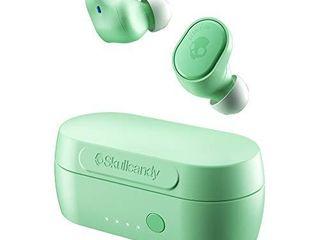 Skullcandy Sesh Evo True Wireless In Ear Earbud   Pure Mint