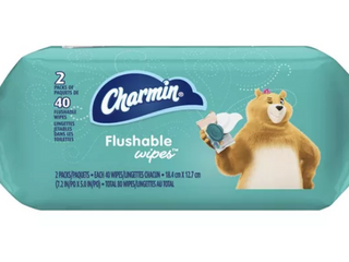 Charmin Flushable Wipes 13 Packs MISSING ONE