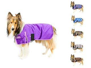 Derby Originals Ruff Pup 1200D Ripstop Waterproof Winter Dog Coat 150g Medium Weight