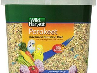 Wild Harvest Wh 83540 Wild Harvest Advanced Nutrition Diet For Nutrition Diet For Parakeets  4 5 Pound