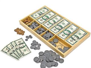 Melissa and Doug Kids Toy  Play Money Set