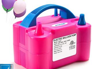 Agptek Electric Balloon Pump Pink