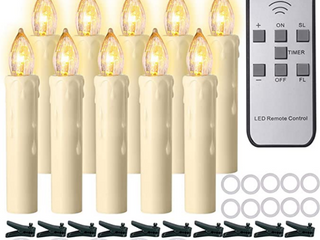 PCHERO MUlTI FUNCTION lED CANDlES WITH REMOTE