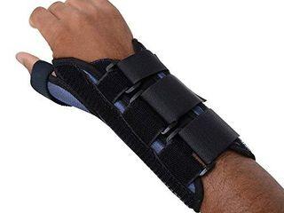 Sammons Preston   74322 Thumb Spica Wrist Brace  Thumb Splint  Wrist Splint for Wrist Support  Wrist Brace  Thumb Brace for CMC   MC Joints  Wrist Spica  Thumb Spica  Thumb Support  Right Hand  Medium