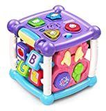 VTech Busy learners Activity Cube  Purple Standard Packaging