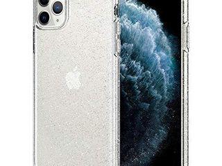 Spigen liquid Crystal Glitter Designed for iPhone 11 Pro Case  2019    Crystal Quartz
