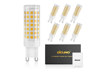 US Dicuno G9 CMC lED 12 PACK  MODEl G9 52 CMC DW  4W