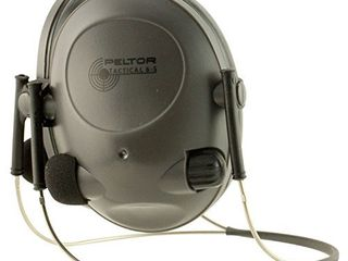 3M Peltor Soundtrap Tactical 6 S Electronic Headset  Black  one size  97043