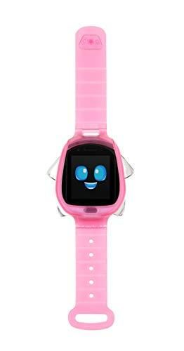 little Tikes Tobi Robot Smartwatch   Pink with Movable Arms and legs  Fun Expressions  Sound Effects  Play Games  Track Fitness and Steps  Built in Cameras for Photo and Video 512 MB   Kids Age 4