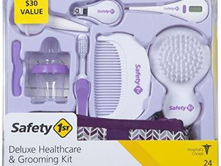 Safety 1st Deluxe Healthcare   Grooming Kit  Pyramids Grape Juice  Pyramids Grape Juice  One Size