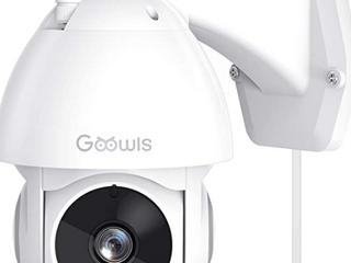 GOOWlS OUTDOOR SECURITY CAMERA WORKS WITH AlEXA SHOW