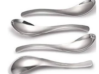 HIWARE Soup Spoons Set of 4
