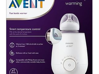 Philips Avent Fast Baby Bottle Warmer with Auto Shut Off