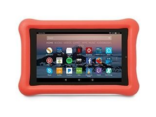 Amazon Kid Proof Case for Amazon Fire 7 Tablet  7th Generation  2017 Release  Punch Red